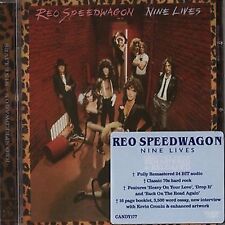 REO SPEEDWAGON - Nine Live - Rock Candy Remastered Edition - CD