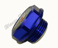 TRD Engine Oil Fuel Filler Tank Cap Cover Aluminum Blue For TOYOTA SCION