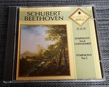 Classical Gold – Schubert: Symphony No 8 Unfinished / Beethoven: Symphony No 5