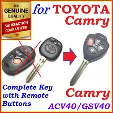Fit Toyota Camry complete Remote key 4 Buttons - Year 2006 to 2011