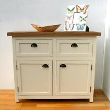 Painted Wood Shabby Chic Sideboard Table with 2 Drawer 2 Door PR-KCDS