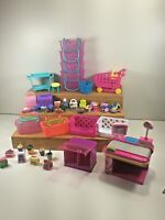 Lot Of Shopkins Shopping and Pantry Accessories