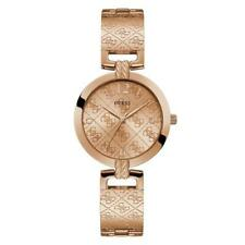 Guess G Luxe Rose Gold Plated Steel Ladies Watch W1228L3
