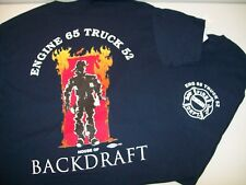 "Chicago Fire Department Engine 65 ""House of Backdraft"" Shirt"