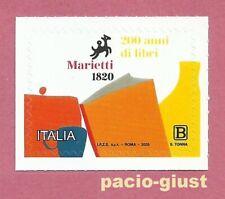 Italia 2020  CASA EDITRICE MARIETTI  Francobollo singolo