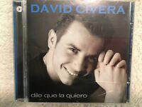 DAVID CIVERA DILE QUE LA QUIERO CD VALE MUSIC