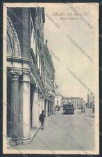 Venezia Mestre Filobus cartolina MQ2186
