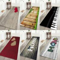 3D Carpet Printing Floor Area Rug Anti-slip Living Room Bedroom Hallway Door Mat