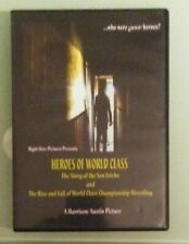 HEROES OF WORLD CLASS story the von erichs rise fall championship wrestling DVD