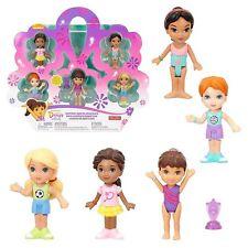 Fisher-Price Nickelodeon Dora & Friends Summer Sports Adventure Set of 5 Dolls