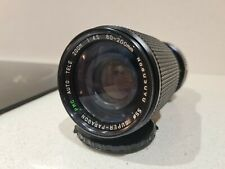 Super Paragon PMC 80mm-200mm f4.5 Manual Zoom Lens Pentax
