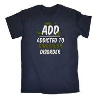Funny Novelty T-Shirt Mens tee TShirt - Add Dino