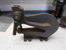 Heinrich Company Model 6 Deep Throat Bench Punch Press Usa Racine Wisconsin