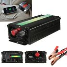 Pure Sine Wave 1000W Modified Power Inverter DC 12V to 220V Camping Boat Caravan
