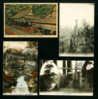Japan Stamps Lot of 10 Scenic Postcards