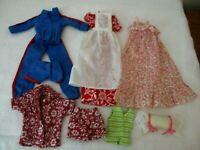 Vintage Handmade Barbie doll clothes~with snap closures as needed~ 10 items