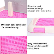 Pet Puppy Dogs Potty Toilet Loo Pee Litter Tray Box Training Pad Indoor Holder