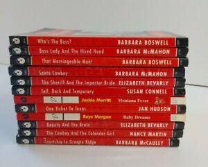 Silhouette Desire, Sexy & Seductive Series, Romance Novels, Bulk Lot of 12 books