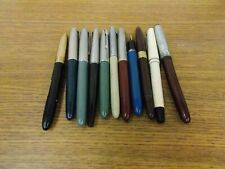 Lot Of 11 Vintage Fountain Pens- Used Condition