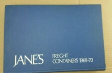 Vintage Heavy Book Jane's Freight Containers 1969-70