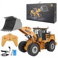Remote Control Truck Front Loader 9 Channel Rc Bulldozer Construction Vehicles
