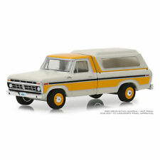 1/64 1977 Ford F-100 with Camper Shell Blue Collar Series 5 Greenlight NEW 35120