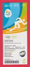 Orig.Ticket  Olympische Spiele RIO DE JANEIRO 2016 - Leichtathletik 18.08. // B