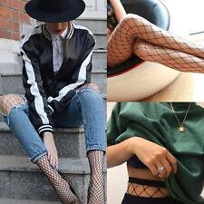 US SHIP Women Ladies Black Big Mesh Fishnet Net Pattern Pantyhose Stockings Sock