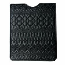 Red Valentino Quilted Leather Black Pouch Ipad Case 8x10