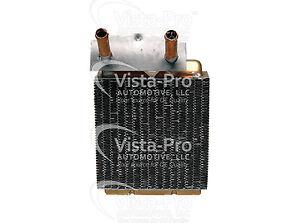 HVAC Heater Core Vista Pro 399116