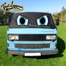 VW Screen Cover T25 Truck Mirrors  Black Out Window Blind Syncro Doka Deluxe Eye