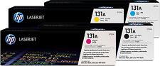 HP Original Toner 4er Set CF210A CF211A CF212A CF213A für HP LaserJet Pro 200