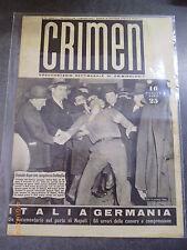 CRIMEN - Documentario settimanale di criminologia - n° 8/1947