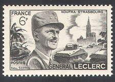 Francia 1948 militar/del ejército/General Leclerc/tanques/Batalla 1 V (n32552)