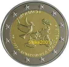 2 EURO COMMEMORATIVO FDC MONACO 2013 ONU