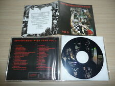 @ CD V.A. APPOINTMENT WITH FEAR - VOLUME III RARE CYBER MUSIC METAL SAMPLER