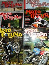 SINGOLA RIVISTA MOTOCICLISMO D'EPOCA DAL 1995 AL 2017 ECCELLENTI NUOVI ARRIVI!!!
