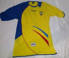 Ecuador National Team Soccer Jersey Large Yellow Ugerts World Cup