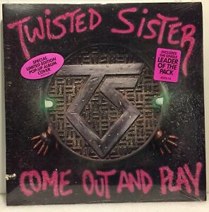 TWISTED SISTER - Come Out and Play - Vinyl LP POP-UP COVER Ltd Ed 1985 - MINT