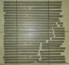 40 x Pieces of Peco HO or OO Gauge Flexible Model Railway Track -Various lengths