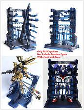 Super Nova MS Cage Base for Bandai 1/100 MG RE TV Gundam Unicorn Freedom Blue