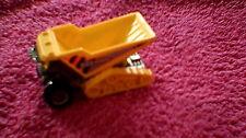 Matchbox - 1-120 Unboxed - #42 Dump Dozer - Grey & Yellow