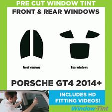 Pre Cut Window Tint - Porsche GT4 2014 Full Kit