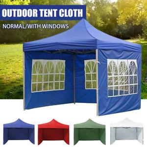 Heavy Duty Gazebo Marquee Waterproof Outdoor Garden Party Canopy Tent Shade