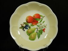 Lenox Orchard in Bloom Pasta,Spaghetti Scalloped Bowl w/Berries Pear 8-3/4 inch