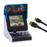 NEOGEO Mini Console: International Edition plus HDMI Cable - Includes 40 Games