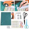 Mix Costura Kit de Herramientas Cuero Manualidades Papel Paño Corte Apoyo Placa