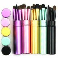 5pcs Portable set makeup brush blush eye shadow eyeliner eyebrow brush makeup li
