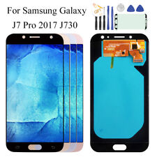 For Samsung Galaxy J7 Pro 2017 J730 Touch Screen Digitizer LCD Display Black UK