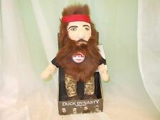 New A&E Duck Dynasty Commander Willie Robertson Talking Plush Doll 13""